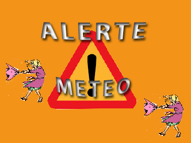 ALERTE METEO VIGILANCE ORANGE AUX ORAGES